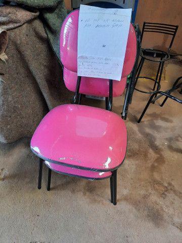 Cadeiras estofadas  3/4  - Foto 2