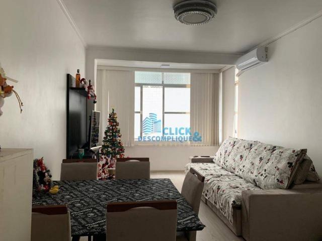 Apartamento com 3 dormitórios à venda, 110 m² por R$ 495.000,00 - José Menino - Santos/SP