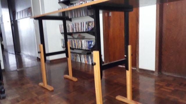 Mesa com 3 cavaletes. (particular) - Foto 5