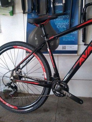 Bicicleta aro 29 de alumínio com rolamento Nova - Foto 3