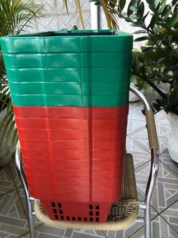 Cestas de plástico /para mercado - Foto 3