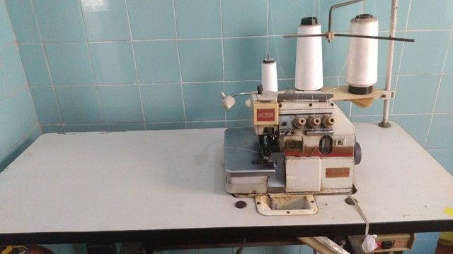 Máquina overclock e máquina de cortar tecido - Foto 3