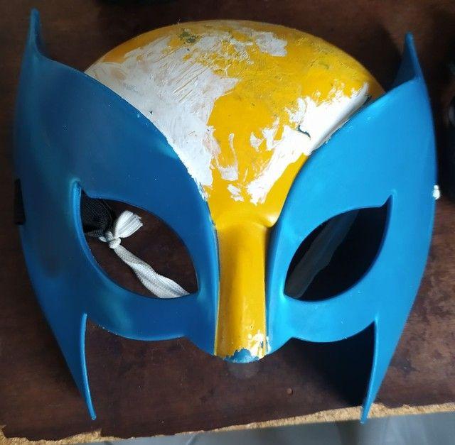 Máscaras PVC hóquei original Jason / wolverine - Foto 2