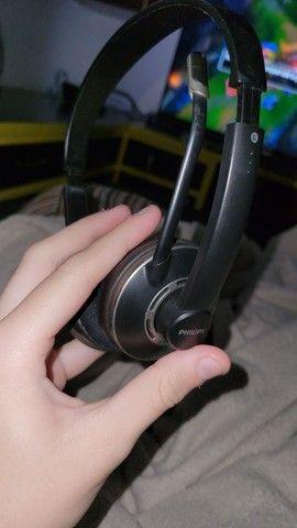 Headset fone Philips profissional