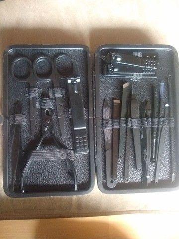 Kit cortadores pedicure / manicure - Foto 2