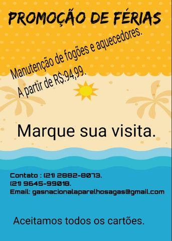 Promoção a partir de R$:94,99 instalação e manutenção de fogões e aquecedores - Foto 2