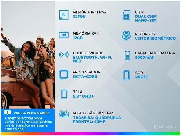 Smartphone Samsung Galaxy S21 Ultra 256GB Preto - Foto 5