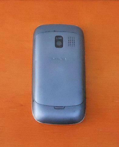 Celular Antigo Nokia Cinza Com Cromado  - Foto 2