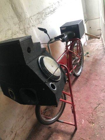 Bicicleta de som propaganda - Foto 3