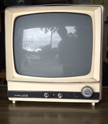 """Raríssíma TV Phico Preto e Branco """"Capelinha"""" no Estado pra Colecionadores Restauradores"""