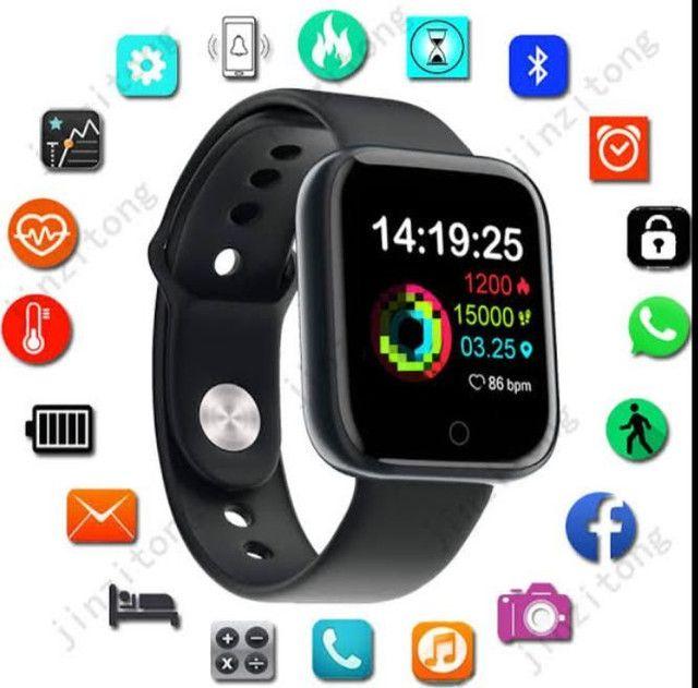 relógio smartwatch inteligente fitness android