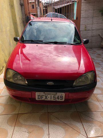 Fiesta 2001 GNV básico R$4.500k REPASSE - Foto 3