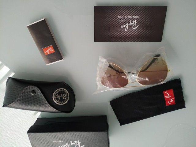 Vendo óculos novo modelo aviador na caixa - Foto 6
