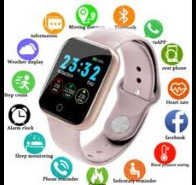 relógio smartwatch inteligente fitness android - Foto 2