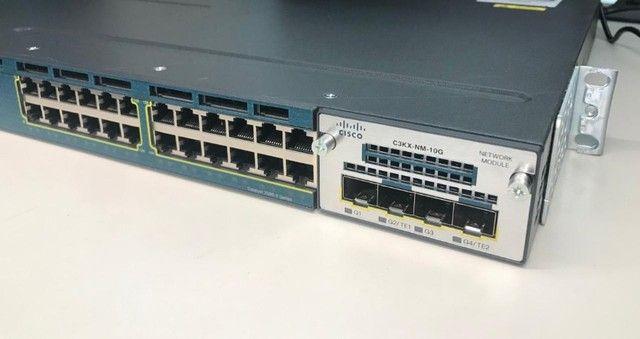 Switch Cisco Model Ws-c3560x-24t (leia A Descrição)