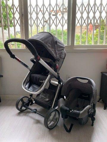 Carrinho de bebê + bebe conforto - Mobi , safety 1st - Foto 4