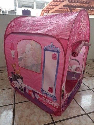 Barraca infantil barbie(faço o preço até 100) - Foto 4