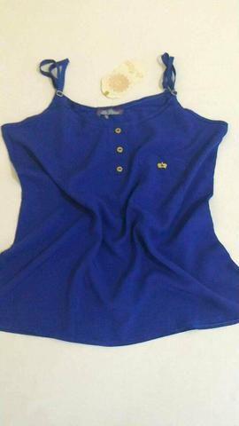 Blusa Azul - Tamanho: M