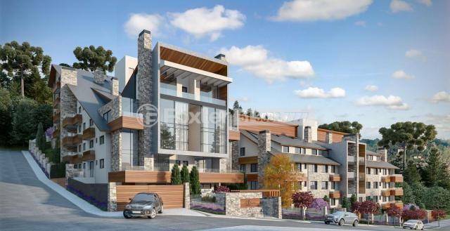 Apartamento à venda com 2 dormitórios em Vila suíça, Gramado cod:160555
