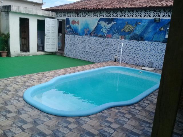 Feriado da Proclamação da República em Jacaraipe. Casa com piscina e churrasqueira