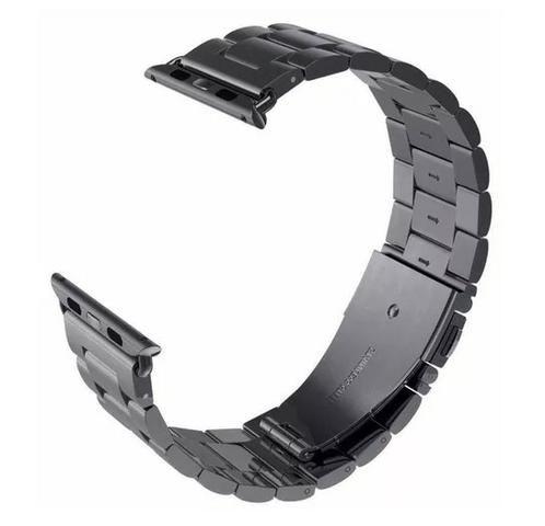 ce49231460a Pulseira Aço Inox Para Relógio Apple Watch Séries 1 2 3 4 ...