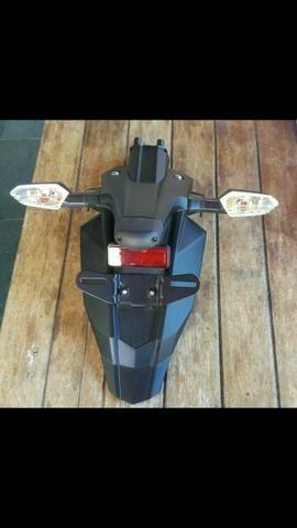 Vendo escapamento e rabeta da moto Kawasaki Z800