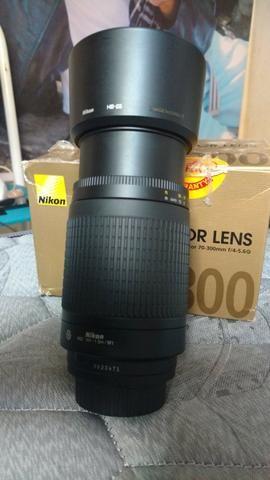 Lente Nikon 70-300