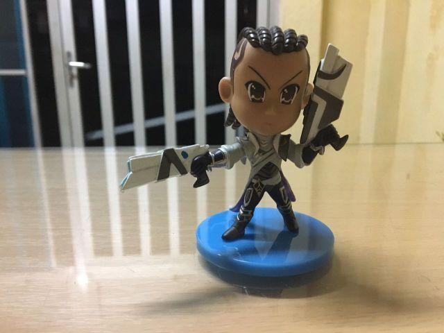 Boneco Action Figure League of Legends (LOL) - Lucian - n° 72