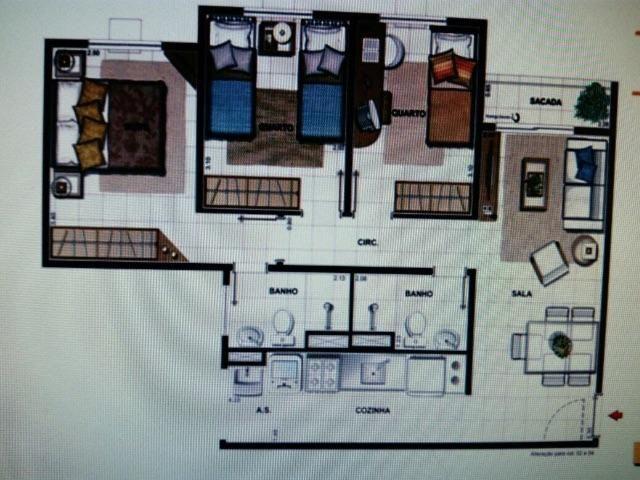Oportunidade de Investimento Apartamento 3 Quartos com Suíte