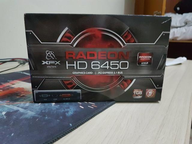 Placa de vídeo RADEON HD6450