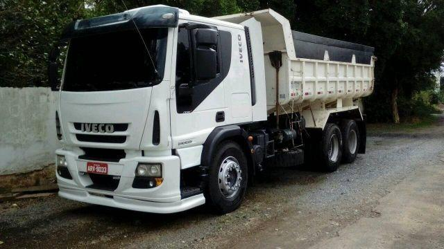 Iveco 240e25 caçamba basculante truck