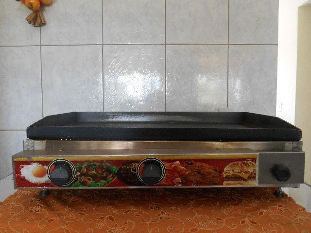 Fritadeiras e chapa grill