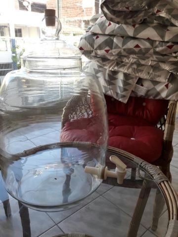 Barril de vidro