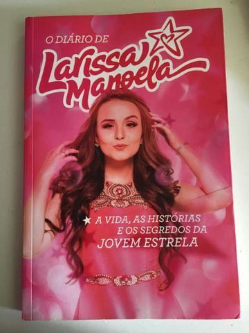Livro o diário de Larissa Manuela