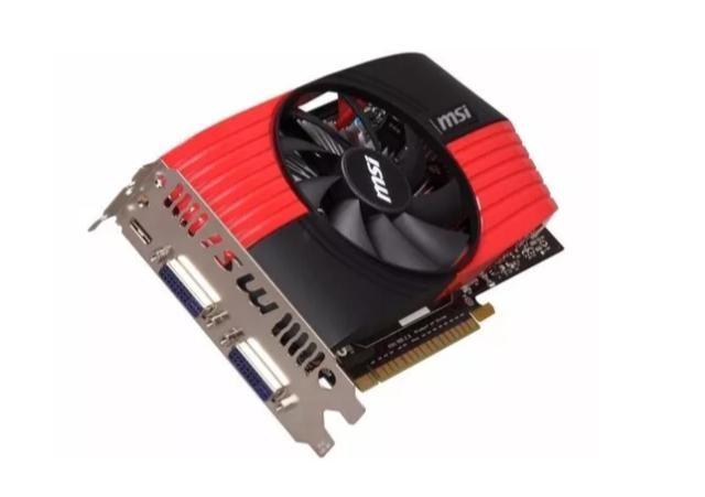 Placa De Vídeo Geforce N550gtx-ti Msi 1gb 192 Bit Pci-e