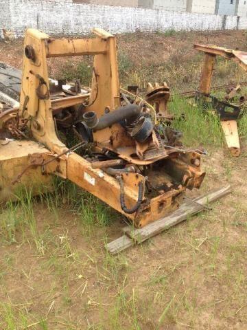 Chassi de retroescavadeira case 580l e peças - 2002