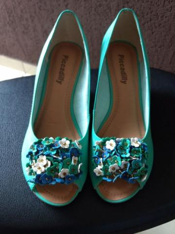 Sapato Picadilly com Flores - n° 38