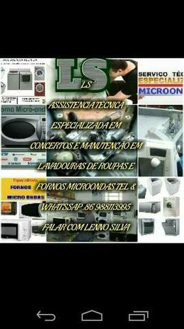 Lavadoras de roupas consertos e manutenção em geral