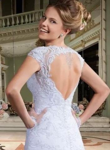 Novo - Vestido Via Sposa Original Sereia Tam G - Preço para levar
