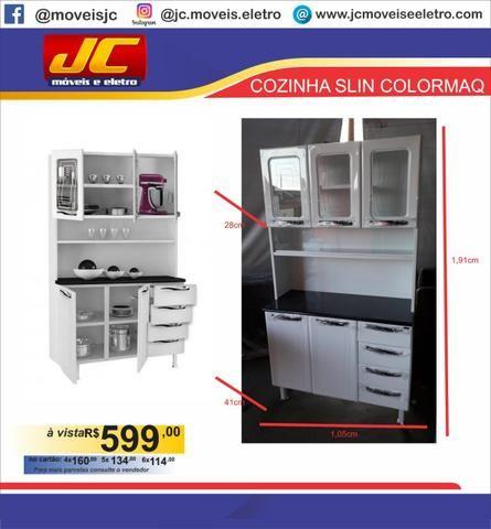 Cozinha slin colormaq