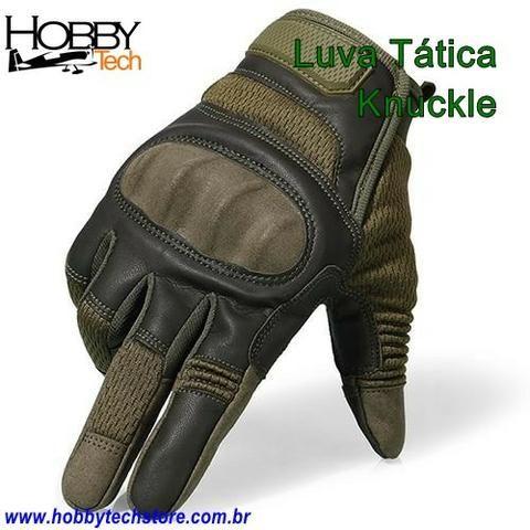Luva Tática Knuckle Tela Sencível ou Sem Dedo - Novas - Foto 3