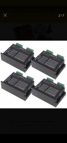 Kit CNC 4 drivers DM556+ interface mach3 USB