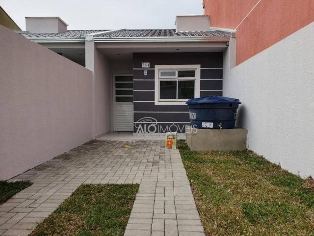 Casa com 2 dormitórios à venda, 36 m² por r$ 155.000,00 - ganchinho - curitiba/pr