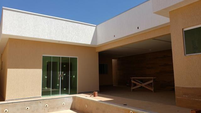 Casa nova 3quartos 3suites piscina churrasqueira rua5 Vicente Pires - Foto 8