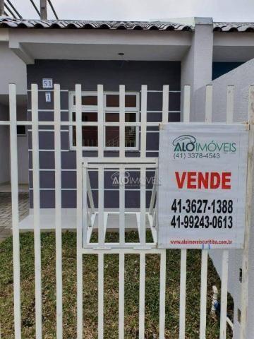 Casa com 2 dormitórios à venda, 36 m² por r$ 155.000,00 - ganchinho - curitiba/pr - Foto 5