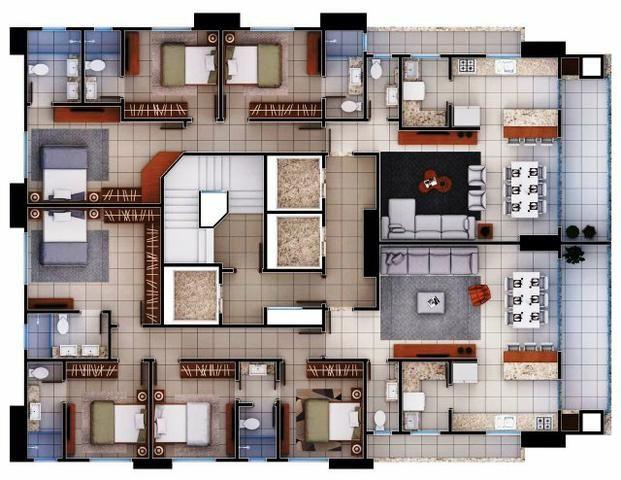 Apartamento na melhor localização de B. Camboriú, 3 suítes, 2 vagas, Lazer completo - Foto 10