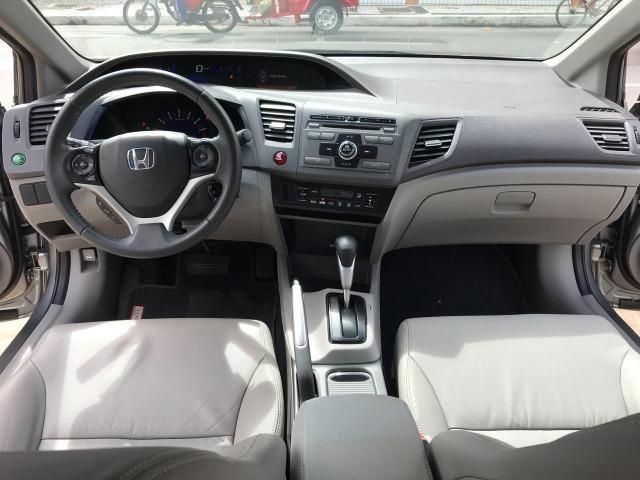 Honda Civic LXR 2.0 Automatico 2014 Completo Unico Dono - Foto 9