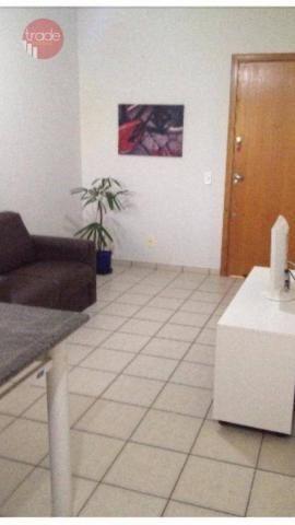 Apartamento com 1 dormitório para alugar, 37 m² por r$ 1.100/mês - nova aliança - ribeirão - Foto 4