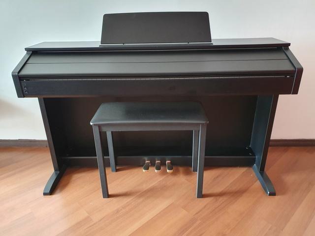 Piano Digital Casio Celviano AP 260 BK Preto c/ Banqueta + Fonte + Livros de lições - Foto 3