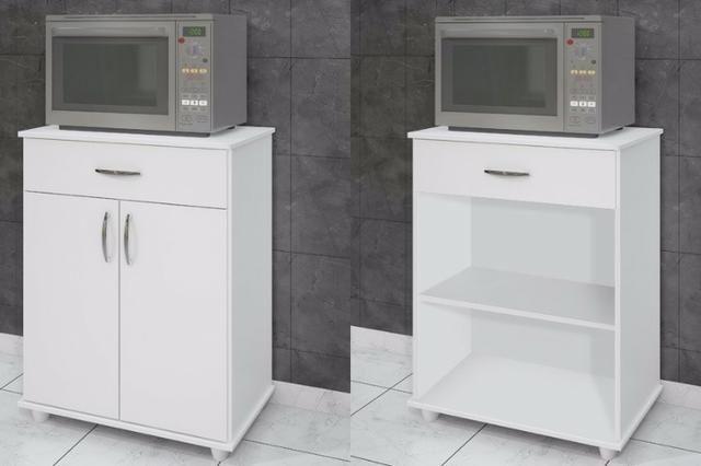 Balcão de Cozinha com 2 Portas e 1 Gaveta- Produto Novo Faça seu Pedido *